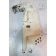 0335416 Port Left Stern Bracket Clamp White for V4 V6 Evinrude Johnson