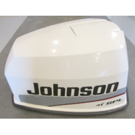 0438776 Evinrude Johnson 115 HP V4 White Motor Engine Cover Top Cowling Hood