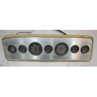 "1983 Sea Ray 192 SXR Boat Dash Panel Gauge Cluster 24 1/2"" x 7"""