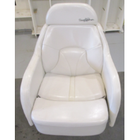 2001 Four Winns Sundowner 235 Boat Bolstered Captains Chair Seat