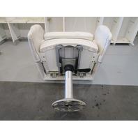 2001 Four Winns Sundowner 235 Boat Bolstered Captains Chair Seat