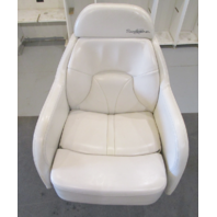 2001 Four Winns Sundowner 235 Marine Boat Bolstered Captains Chair Seat