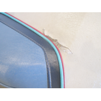 1989 Bayliner Capri Boat Back to Back Seats Folding Grey Blue