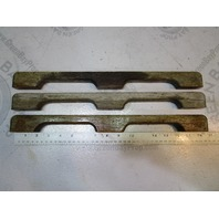 1988 Four Winns 180 Horizon Hand Grab Rails Teak Wood 16 1/2""