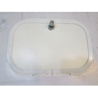 2001 Four Winns Sundowner 235 Boat Poly Storage Access Hatch Cover And Frame