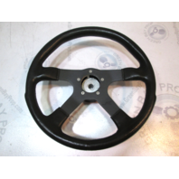 "Grant 14"" Black GT Rally Steering Wheel 4 Spoke For Boat Spline Shaft"