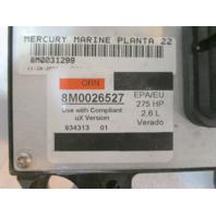 89790744T Mercury Verado 275 PCM Propulsion Control Module ECM Computer 2009