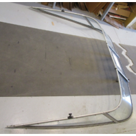 1996 Glastron SSV 195 19' Boat Curved Glass Walk Through Windshield