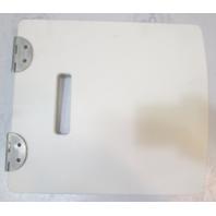 "2006 Bayliner 197 SD Deck Boat White Storage Access Hatch Cover 13.75"" x 12.25"""