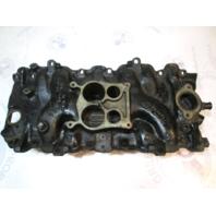 59974 Mercruiser Stern Drive 454 V8 Chevy Marine Intake Manifold 4 Barrel 333841