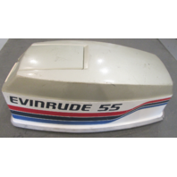 0279984 Top Cowl Motor Cover Hood Johnson Evinrude 55 Hp Outboard
