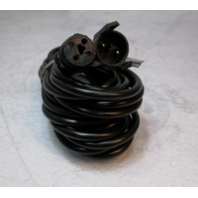 Lowrance XT-12BK Extension Cable 12' For Black Connector 192kHz Transducers 8-99