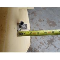 "Plastic Marine Boat Gas Tank Fuel Cell 33 1/2"" x 19"" x 12"""