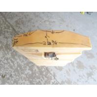 "Plastic Marine Boat Gas Tank Fuel Cell 40 3/4"" x 22 3/4"" x 6"""