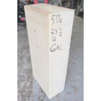 "Plastic Marine Boat Gas Tank Fuel Cell 51 1/2"" x 23 1/2"" x 12"""