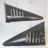 "Bayliner Capri Forward Left Right Window Plastic Trim Corner Cover Vent 11 1/4"""