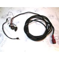 19 Ft Red Plug 8 Pin Hole Engine To Dash Wire Harness Evinrude Johnson GB568755517