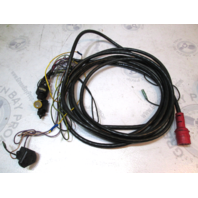 19 Ft Red Plug 8 Pin Hole Engine To Dash Wire Harness Evinrude Johnson GB568756156