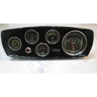 63178 Vintage Mercruiser Dash Gauges & Indicator Light