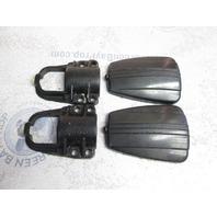 35474F3 Mercury Mariner Tracker Graphite Drive Shaft Housing Clamp Covers