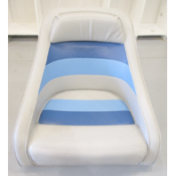 "1983 Concord 20' Marine Boat Blue/Grey Captains Chair Seat 19"" H x 21 3/4"" W"