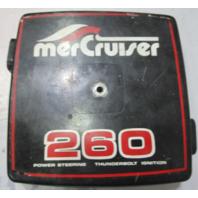41595 Mercruiser Alpha One Metal Carburetor Carb Flame Arrestor Cover 260 V8