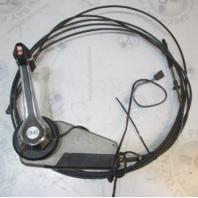 OMC Cobra Sterndrive Throttle Shift Remote Control Box W/Trim 13' & 15' Cables