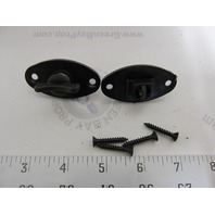 TH Marine Windshield Wing Nut Fastener w/Clip, Pair