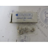 Haskel Clear Miniature Automotive Light Bulb Lamps 12V, 2W, Pkg of 10