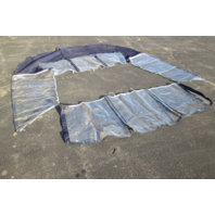 Ameritex 2005 Glastron GS 219 Blue Windscreen, Side & Aft Curtain Set