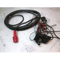 Red 8 Pin Engine Wire Harness, Killswitch & Key Switch Evinrude Johnson Outboard