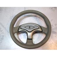 "2006 Tahoe Q4 Tan/Silver 3 Spoke Marine Boat Steering Wheel 13"""