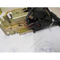 175259 176374 OMC Evinrude Johnson Dual Remote Control W/ Trim Console Mount