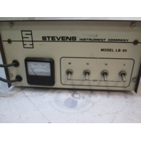 LB-85 Stevens Instrument Carbon Pile Variable Load Tester