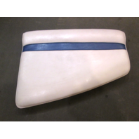 1988 Sea Ray Seville 18' Marine Boat Front Right Bow Seat Cushion White/Blue