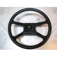 UltraFlex Black 4 Spoke Marine Boat Steering Wheel 13.5""