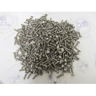 """7lb Lot of 1/4/20 1"""" Carriage Bolts Stainless Steel w/ Square Shoulder"""