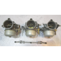 F895061 F879061 Force 90 Hp L-Drive Top Middle Bottom Carburetor Set 1990