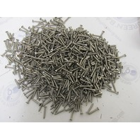 "Lot of 500 8 x 1"" Phillips Head Flat Stainless Steel Sheet Metal Screws 4 Cratfs"