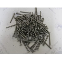 "Lot of 95 #12-20 x 2-3/8"" Phillips Truss Head Stainless Steel Machine Screws"
