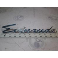 904124 1969 Evinrude 16' Sportsman Side Emblem Applique