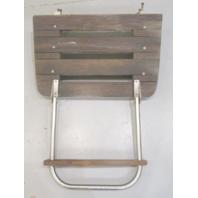 "Marine Boat Teak Wood Swim Platform with 1 Step Ladder 25"" x 16"""
