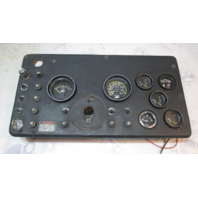 1980 Century 2500 Boat Instrument Dash Panel