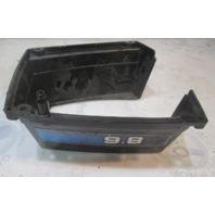 96515 Mercury 9.8 Hp Outboard Lower Bottom Bell Trim Cover Blue