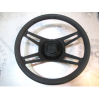 Thompson Boat Steering Wheel 13.75 Inch dia. Tapered Shaft