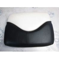2006 Tahoe Q4 Boat Front Bow Back Rest Cushion Black/White