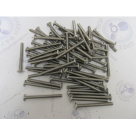 Lot of 65 5/16-18 X 3-1/2 Phillips Head Stainless Steel Machine Screws PTMSSS5/16C3.5