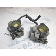 396310 396311 Evinrude Johnson 50 Hp Outboard Carb Carburetor Set 1985