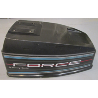 819748A4 Force Outboard 40 HP Top Cowling Cowl Engine Motor Cover Hood