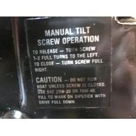 Mercruiser Stern Drive Trim Tilt Hydraulic Pump 96477A3